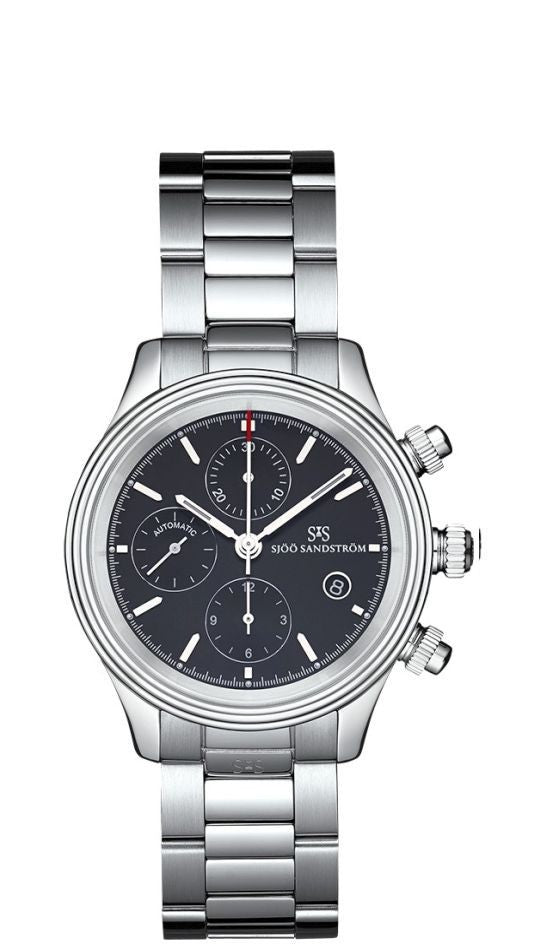 Sjöö Sandström Royal Steel Chronograph 011768