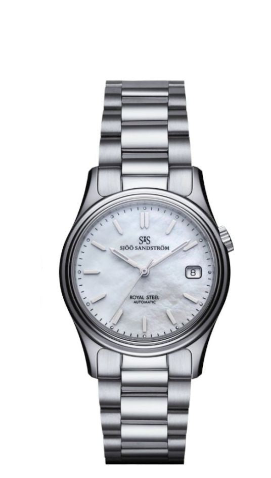 Sjöö Sandström Royal Steel Classic 36 mm 020234