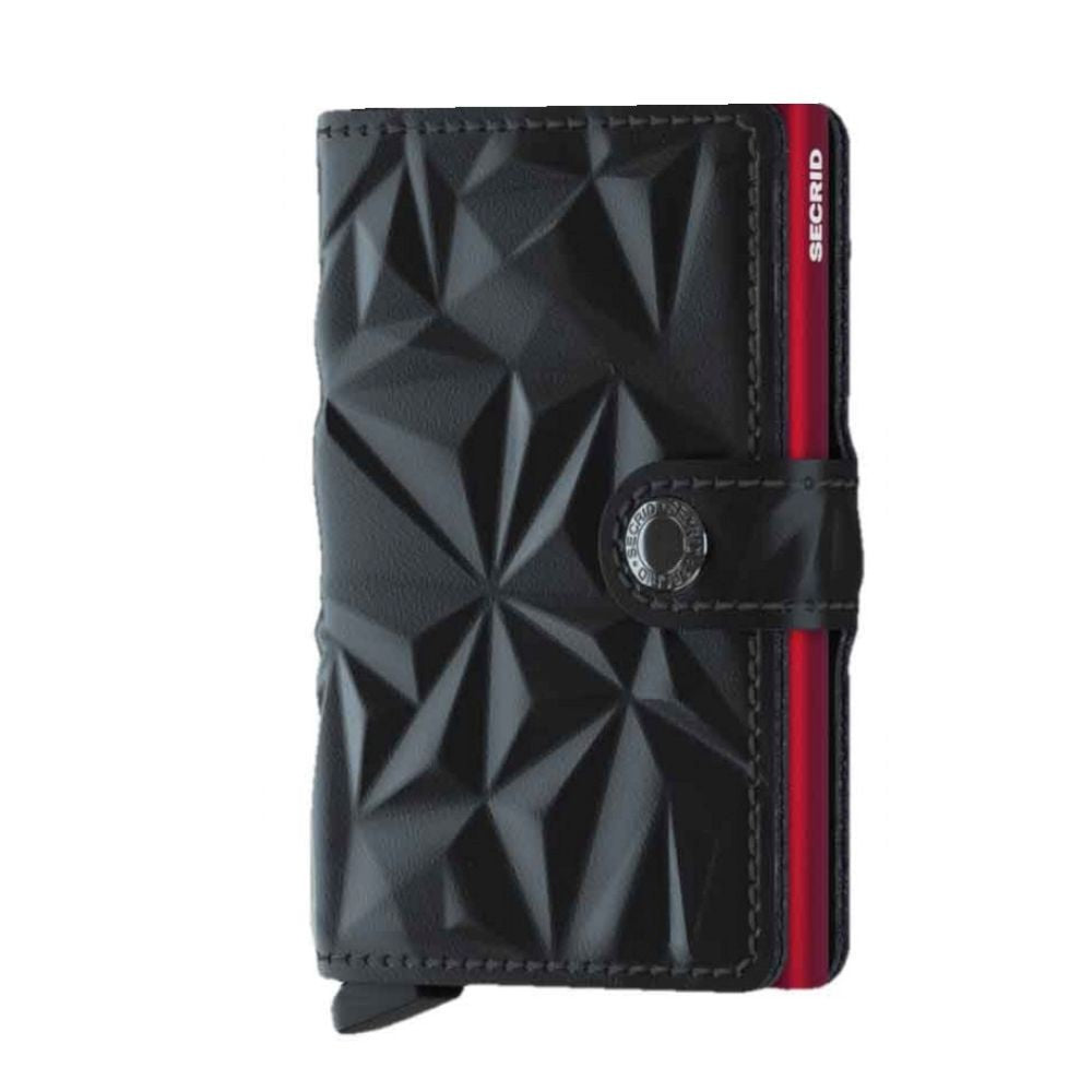 Secrid Miniwallet Prism Black-Red lompakko