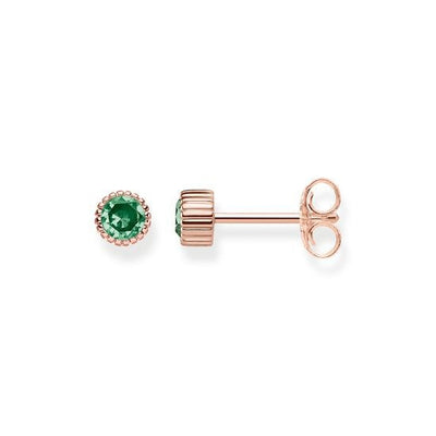 Thomas Sabo Royalty Green korvakorut H1957-323-6