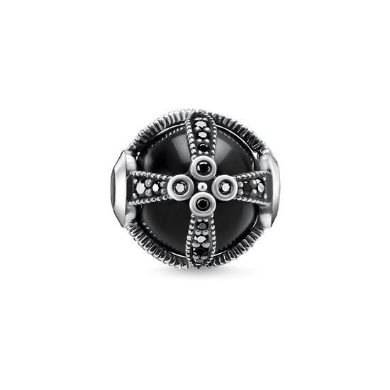 Thomas Sabo Karma Bead Royalty Black K0268-641-11