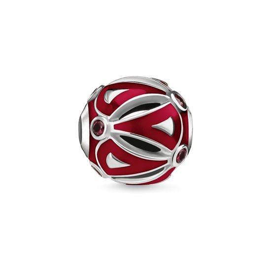 Thomas Sabo Karma Bead Ethnic Red K0279-914-10