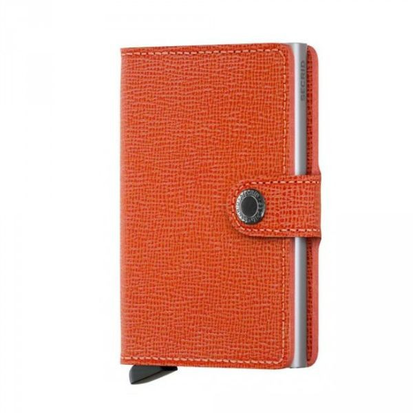 Secrid miniwallet crisple orange lompakko