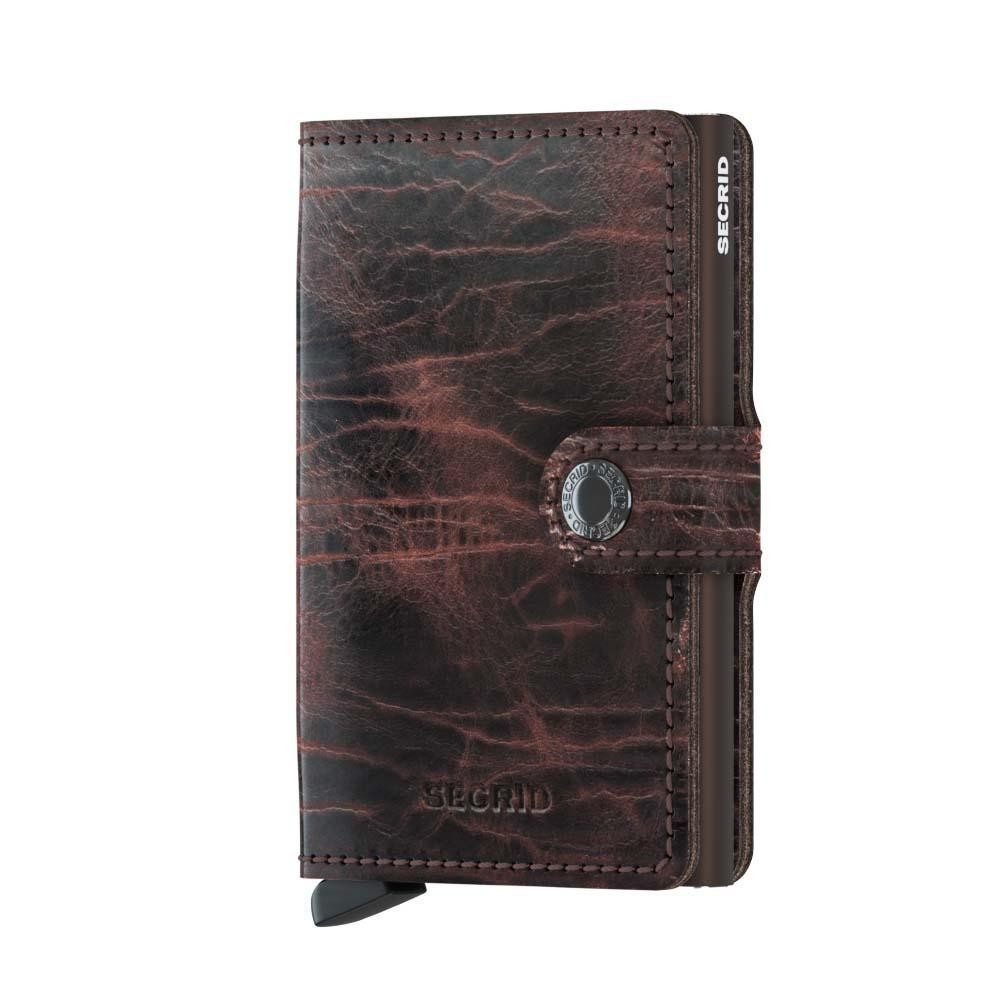 Secrid Miniwallet Dutch Martin Cacao Brown lompakko