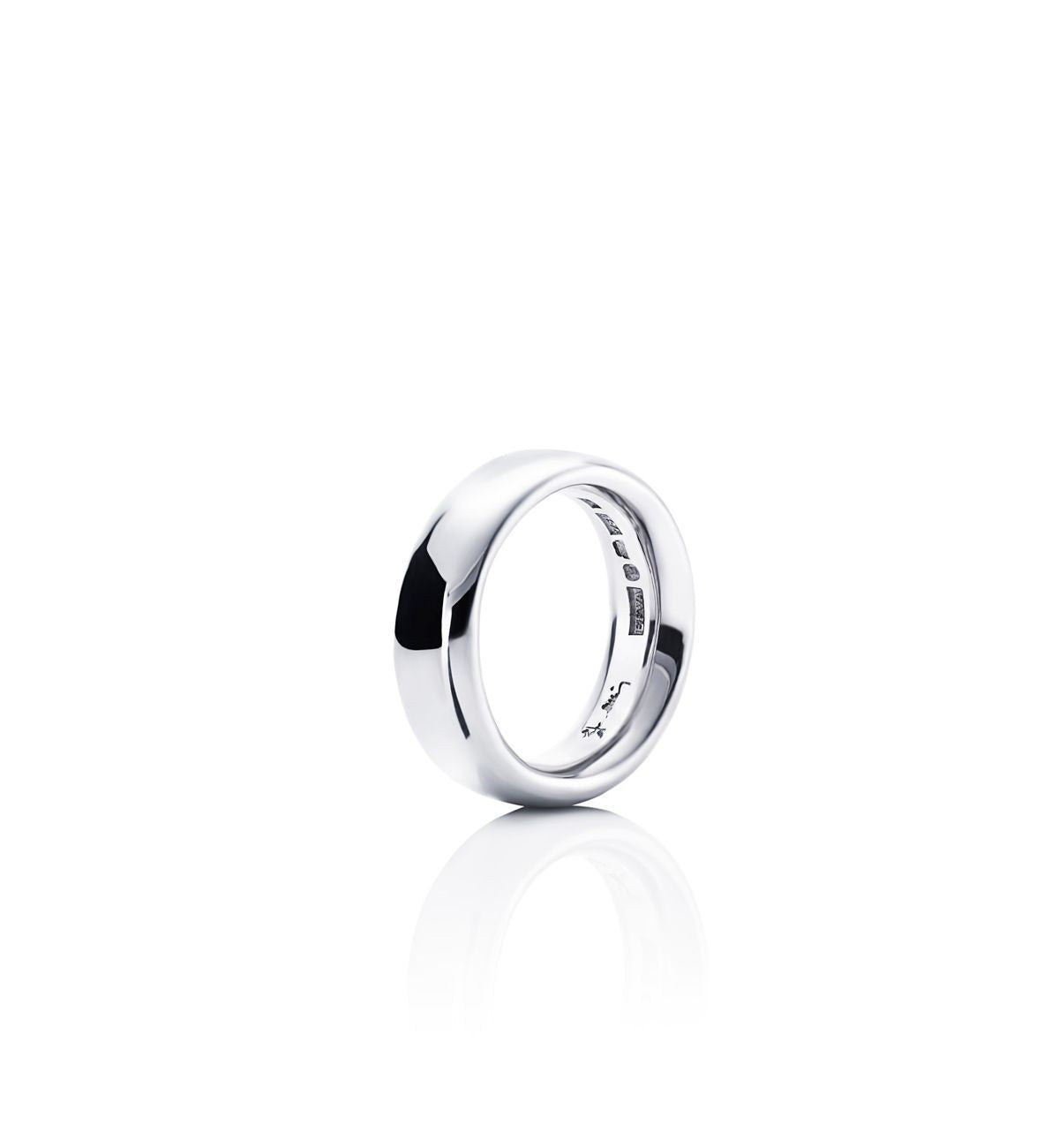 Efva Attling Big Oval Ring sormus