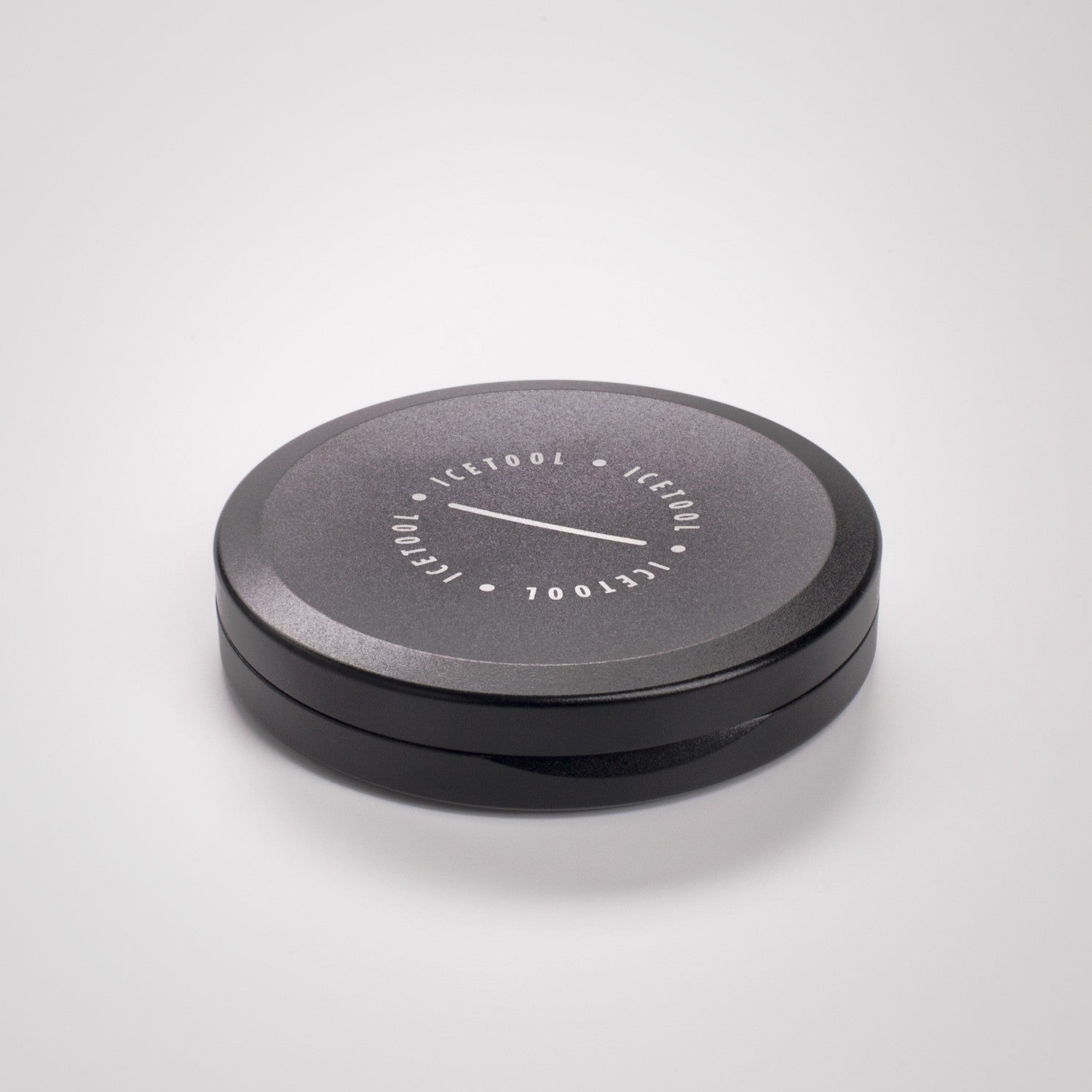 Icetool Slim Can Portion Snus black aluminium nuuskarasia
