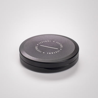 Icetool Slim Can Portion Snus aluminium black nuuskarasia
