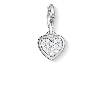 Thomas Sabo Charm Club Glitter Heart 0967-051-14