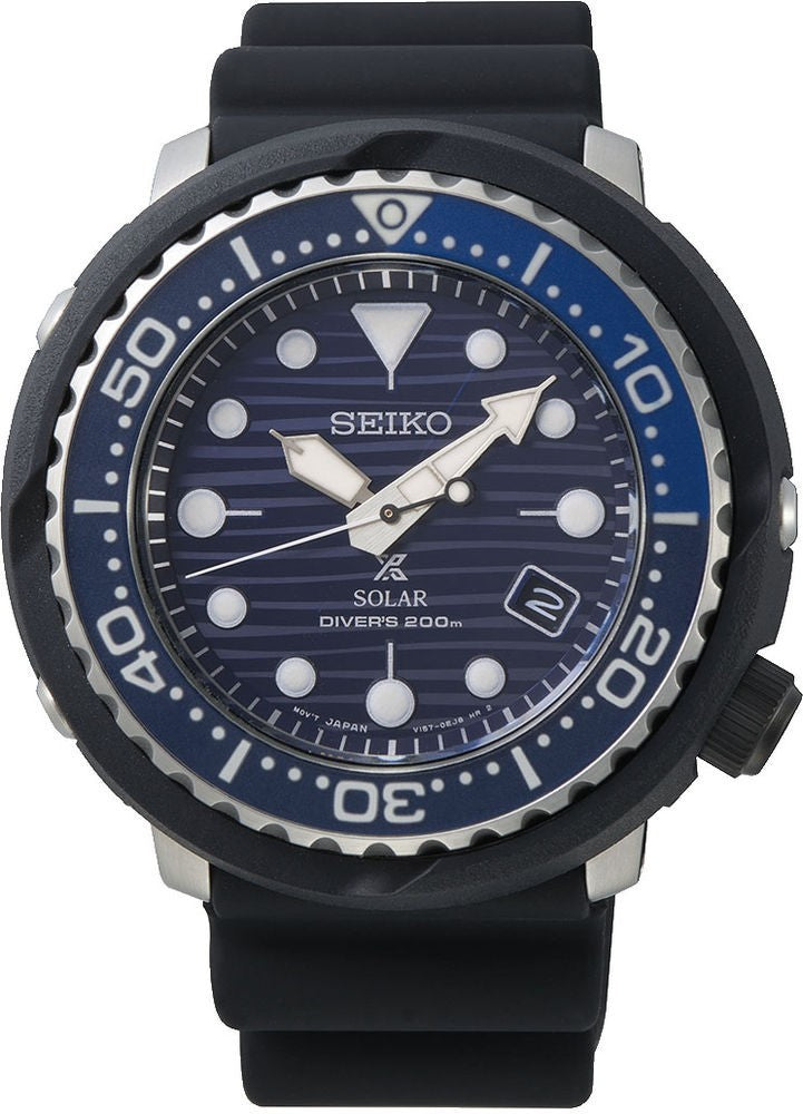 Seiko Prospex Tuna Solar SNE518P1 Save the Ocean kello