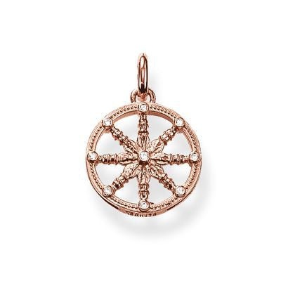 "Thomas Sabo "" Karma Wheel "" Karma rengas KC0001-416-14"