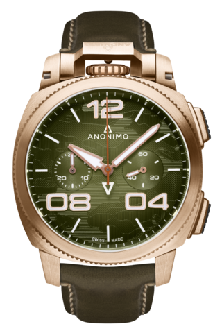 Anonimo Militare Alpini Camouflage Limited Edition AM-1123.01.002.A05 kello