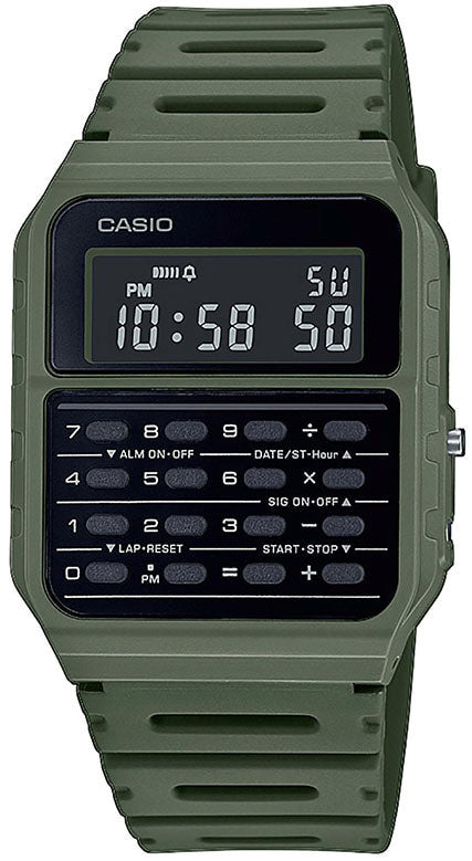 Casio Back To The Future CA-53WF-3BEF Calculator