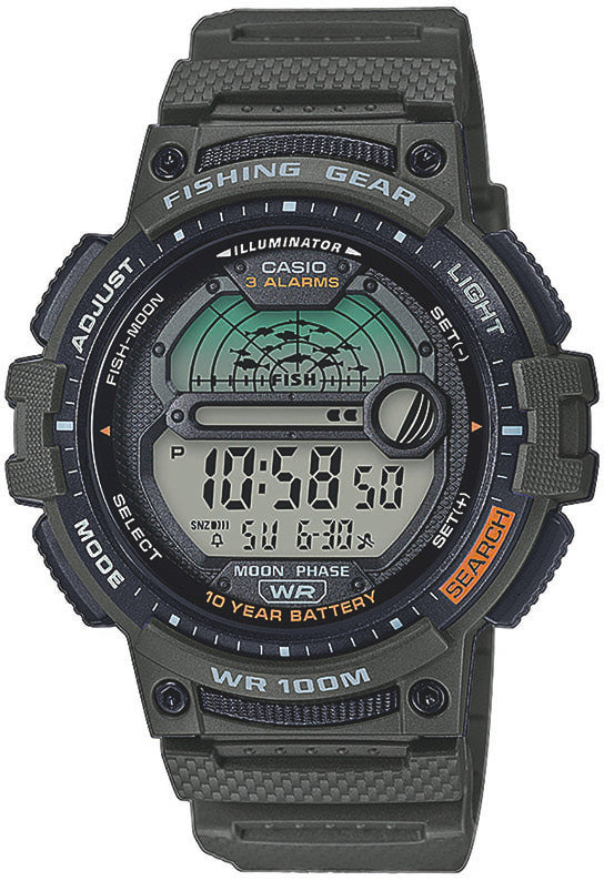Casio Fishing Gear WS-1200H-3AVEF