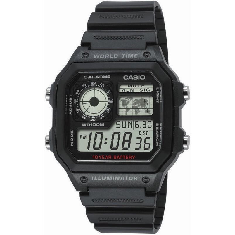 Casio Collection AE-1200WH-1AVEF kello