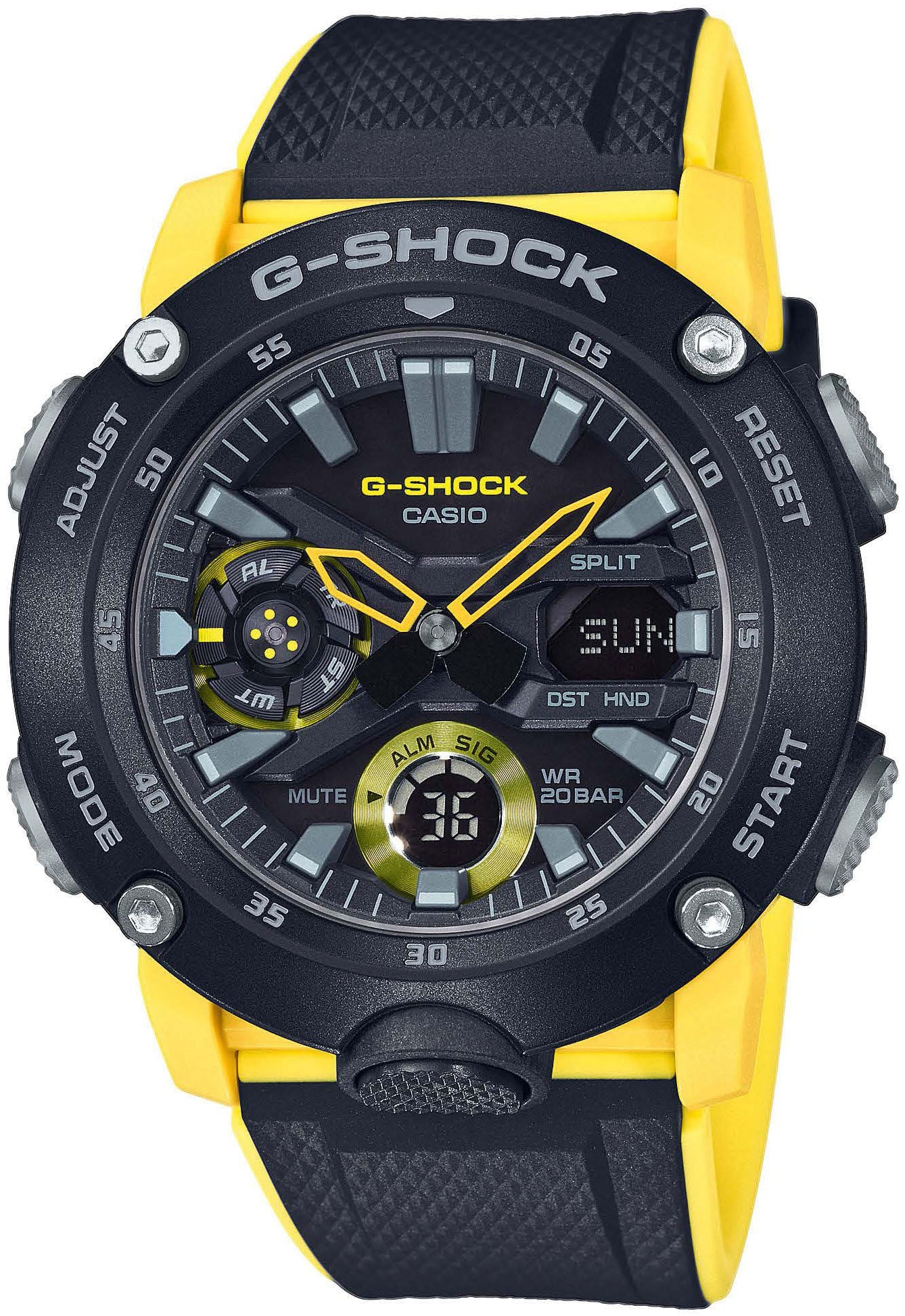 brand new 7c925 91160 Casio G-Shock GA-2000-1A9ER kello