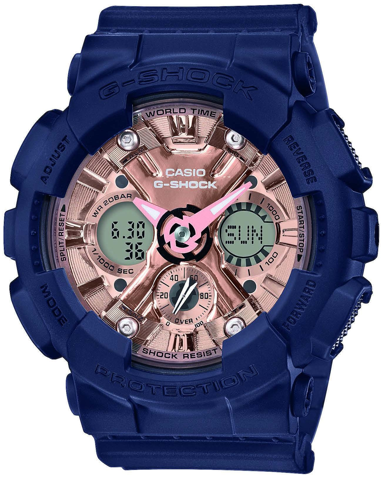 quality design ad41c 56e30 Casio G-Shock GMA-S120MF-2A2ER kello