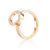 Efva Attling Circle Of Love Ring II timanttisormus