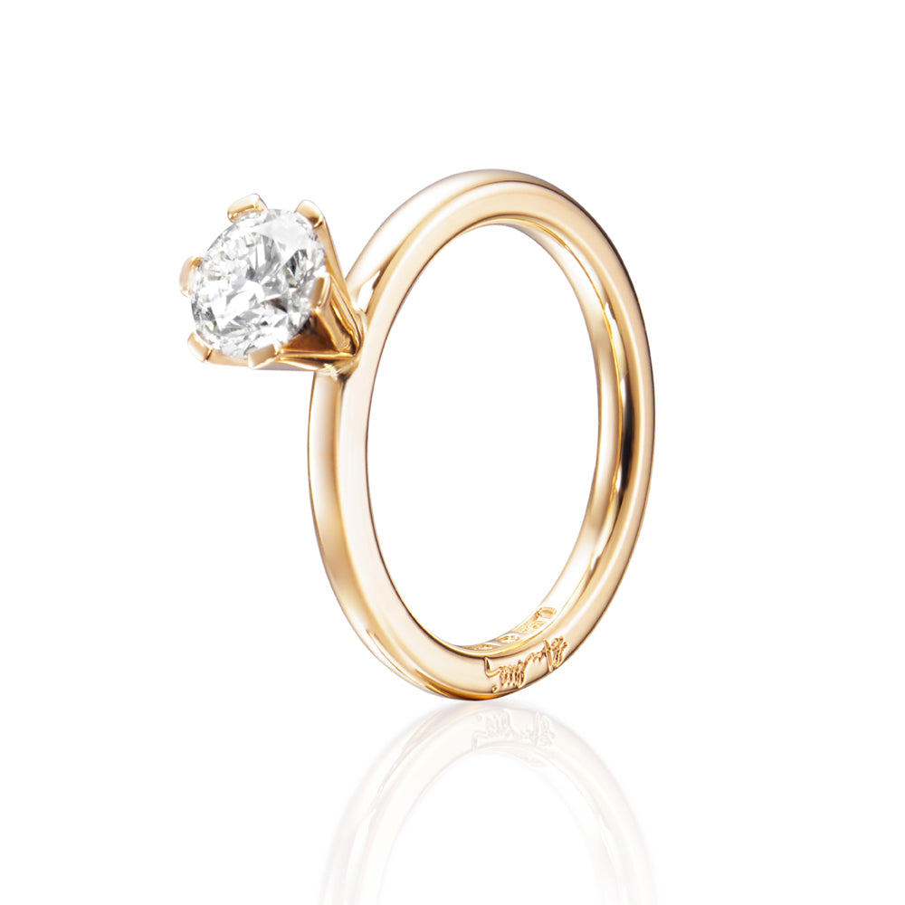Efva Attling High On Love Ring timanttisormus (1,0 ct)