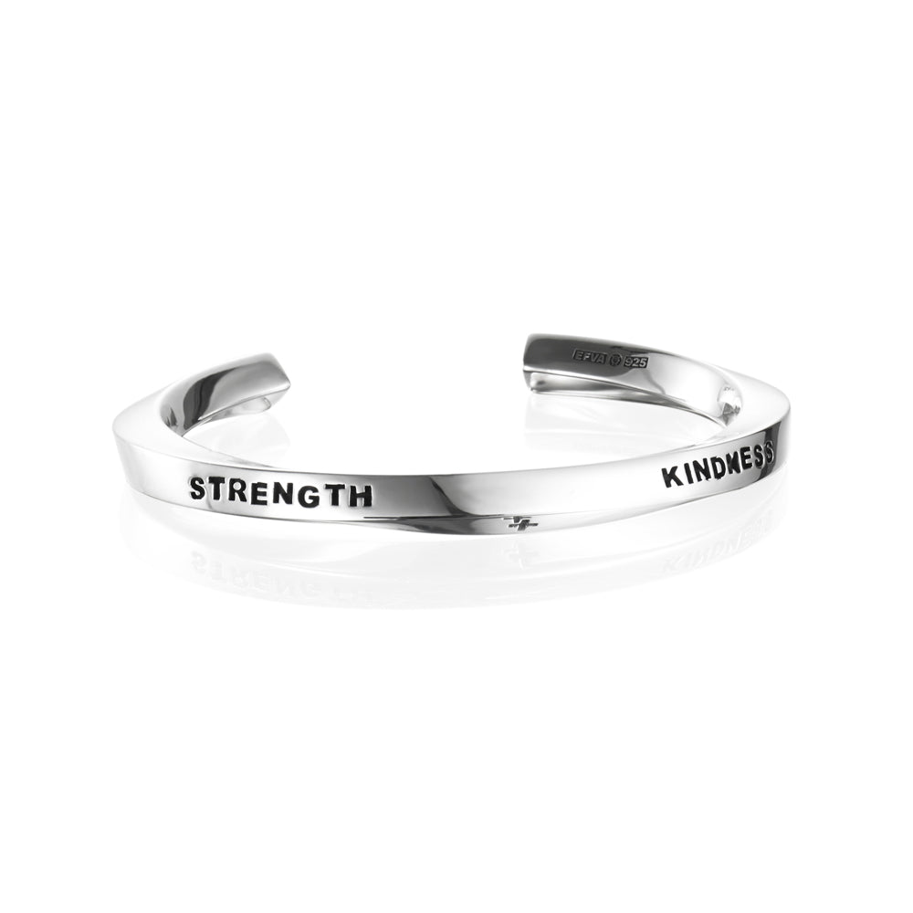 Efva Attling Strength & Kindness Cuff rannerengas
