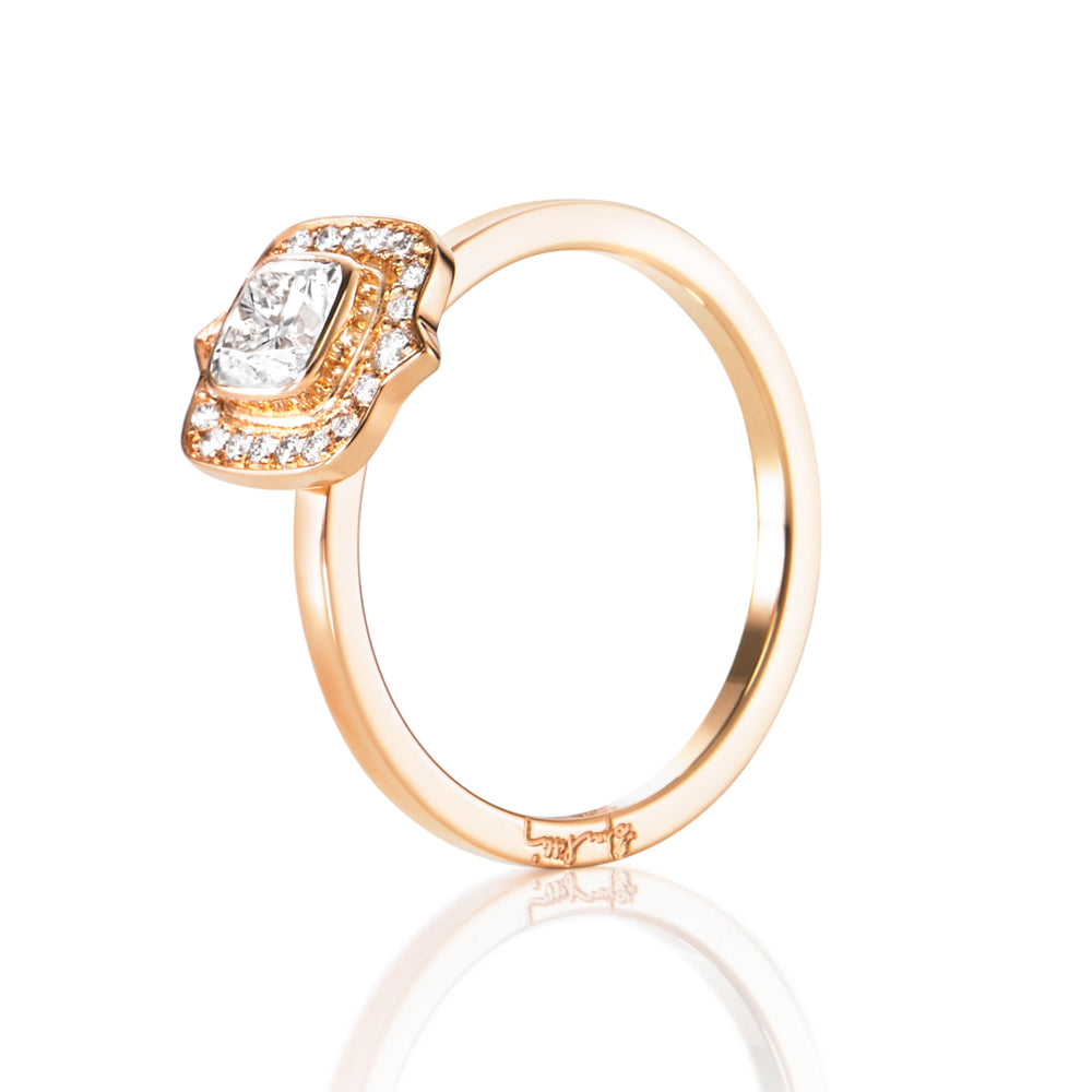 Efva Attling The Mrs Ring timanttisormus (0,50 ct)