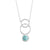 Efva Attling Twisted Orbit Amazonite kaulakoru