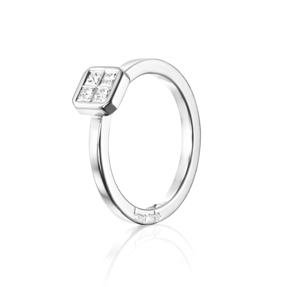 Efva Attling 4 Love Ring timanttisormus (0,20 ct)