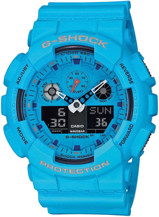 Casio G-Shock GA-100RS-2AER kello