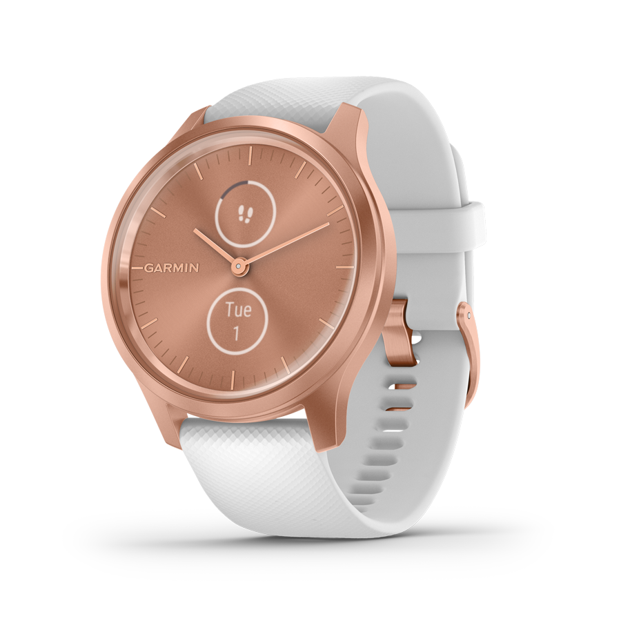 Garmin Vivomove Style White & Rose Gold hybridiälykello 010-02240-00