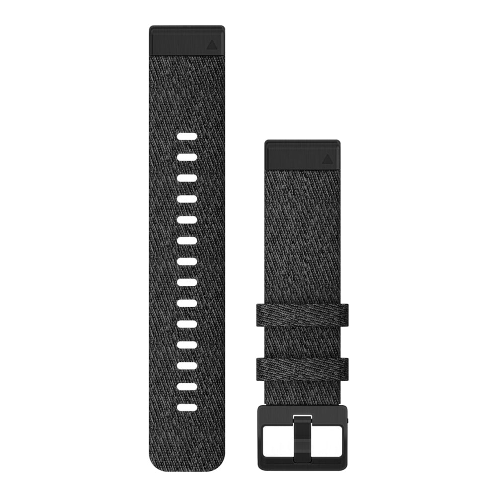 Garmin QuickFit 20 mm musta nailonranneke 010-12875-00
