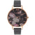Olivia Burton Signature Floral Black & Rose Gold kello OB15WG12
