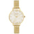 Olivia Burton Celestial Demi Dial Watch with Boucle Mesh kello OB16GD15