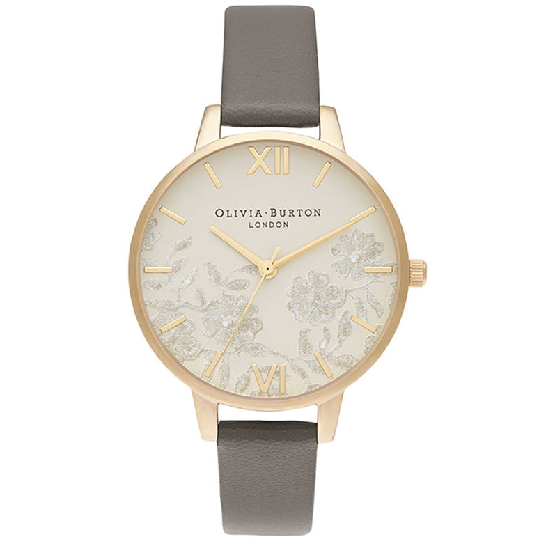 Olivia Burton Demi Nude Dial Vegan London Grey & Gold kello OB16MV98