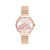 Olivia Burton Rainbow Bee Rose Gold Mesh OB16RB28