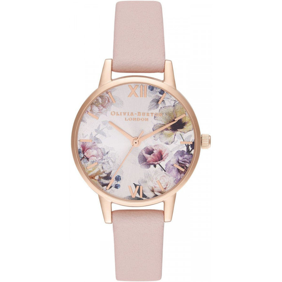 Olivia Burton Sunlight Florals Dusty Pink & Rose Gold OB16EG115