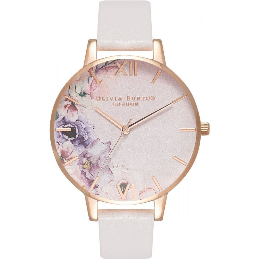 Olivia Burton Watercolour Florals Blush & Rose Gold OB16PP31