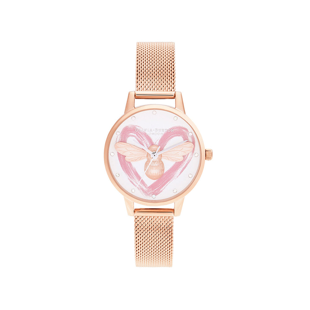 Olivia Burton You Have My Heart Lucky Bee OB16FB01