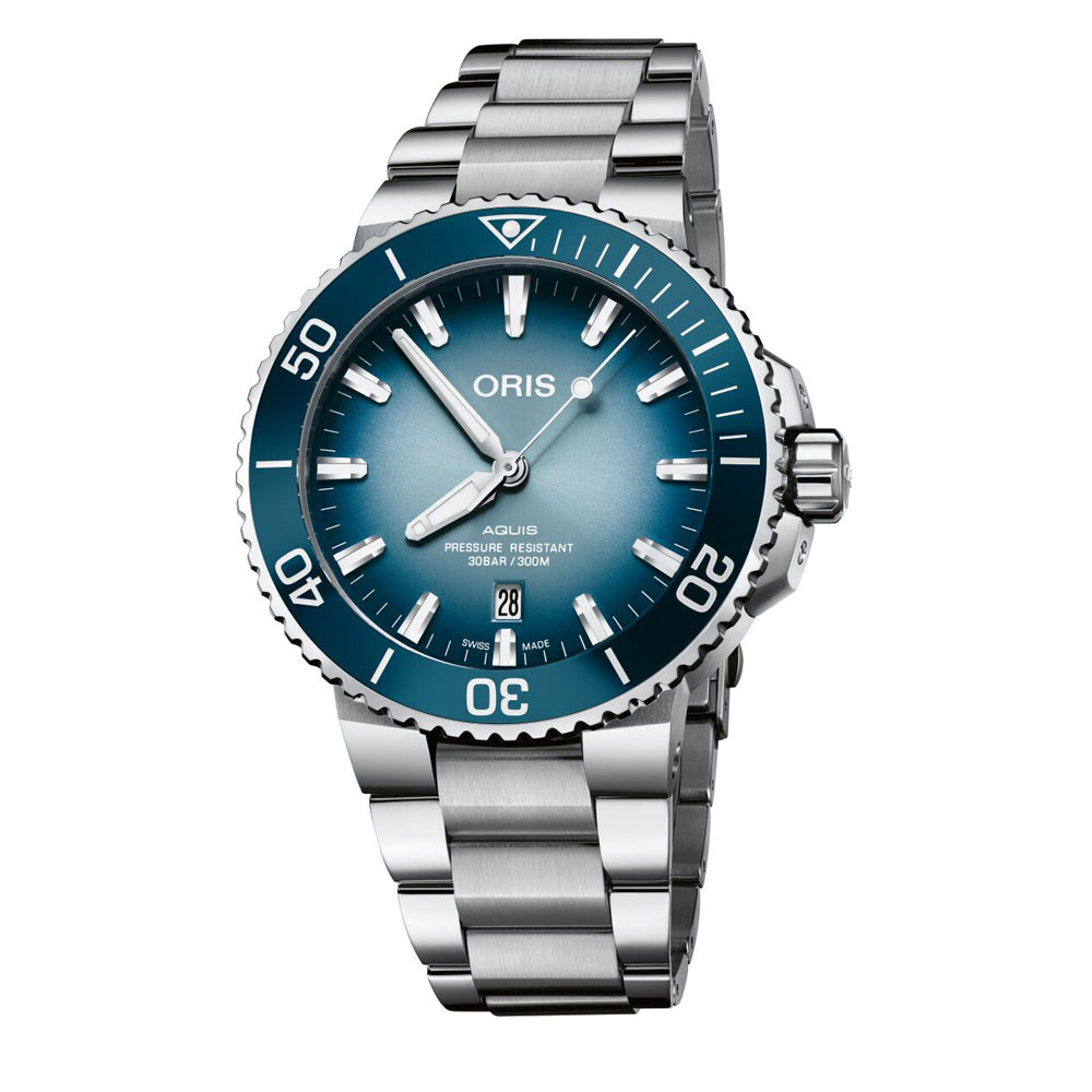 Oris Aquis Date Lake Baikal Limited Edition
