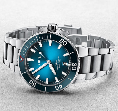 Oris Aquis Date Clean Ocean Limited Edition kello