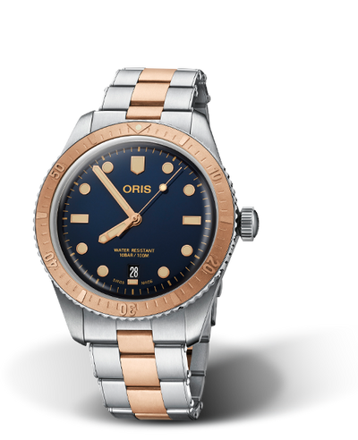 Oris Divers Sixty-Five Bronze Bezel kello