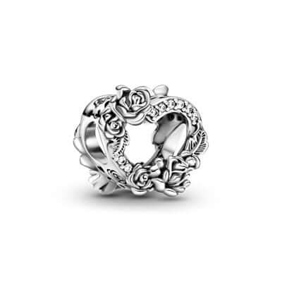 Pandora Heart & Rose Flowers hela 799281c01