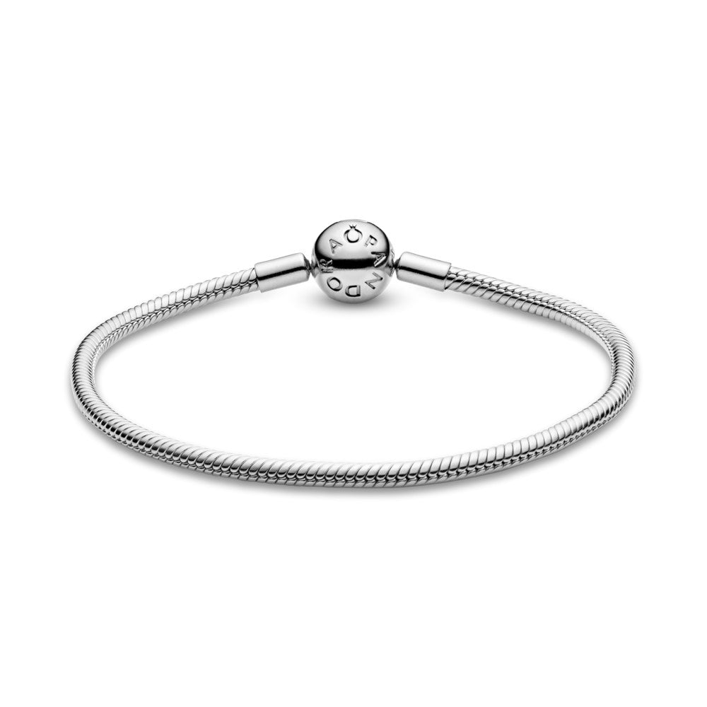 Pandora Moments Smooth Silver Clasp rannekoru 590728