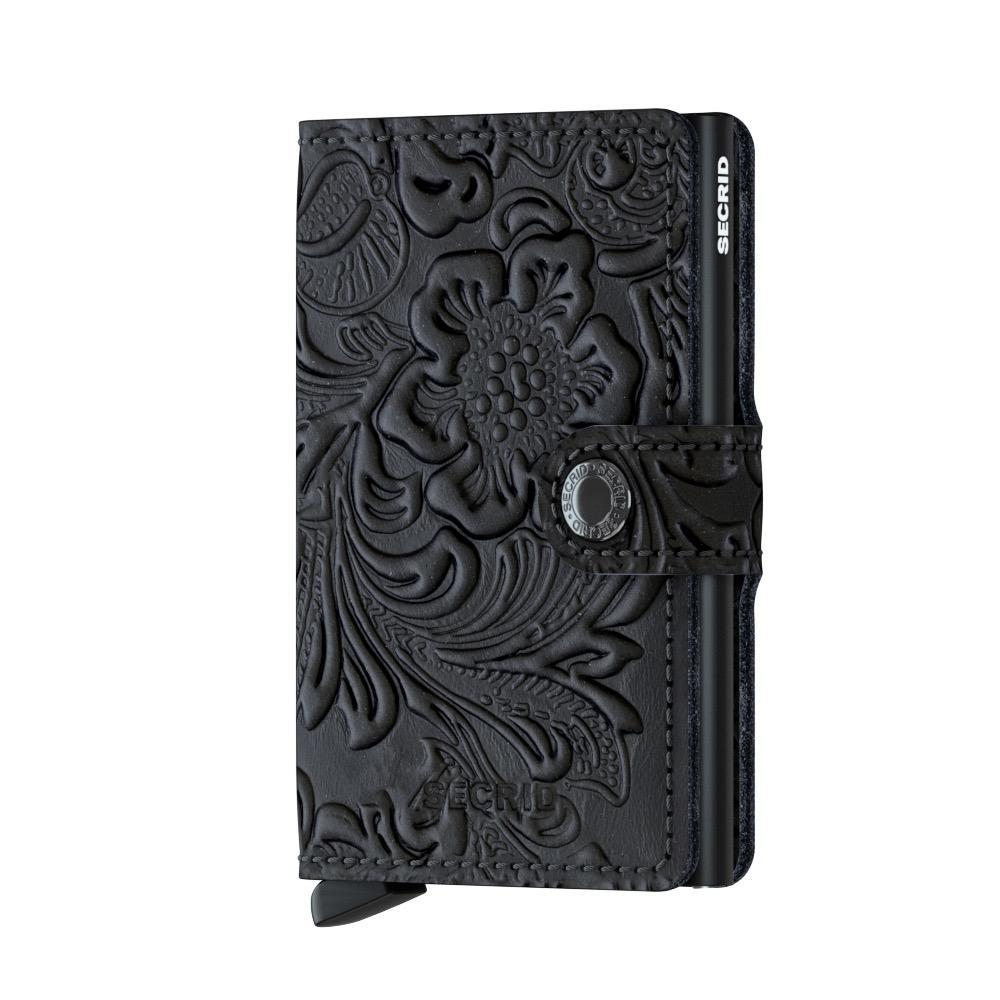 Secrid Miniwallet Ornament Black lompakko