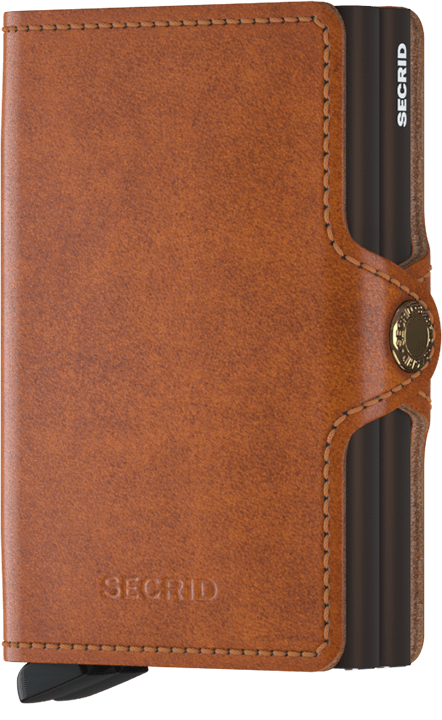 Secrid Twinwallet Original Cognac Brown lompakko