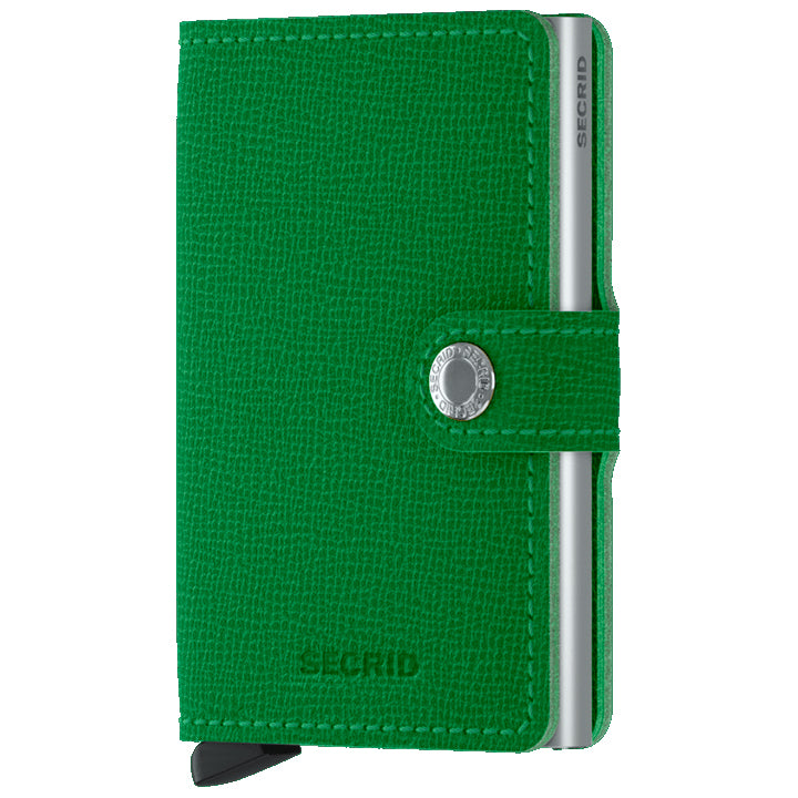 Secrid Miniwallet Crisple Light Green lompakko