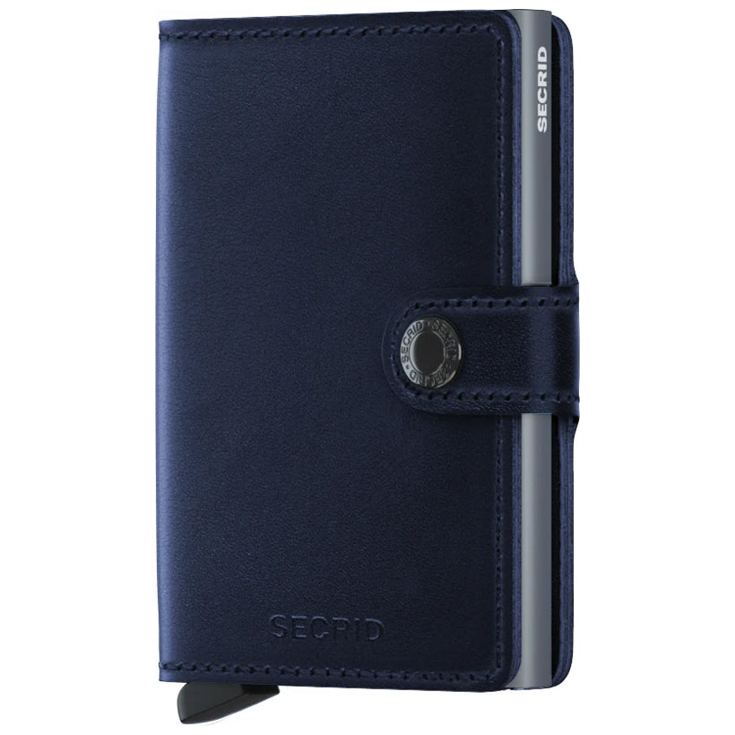 Secrid Miniwallet Navy Polished lompakko