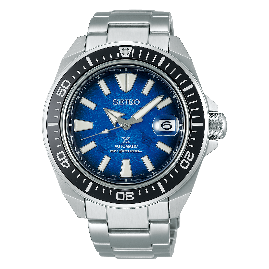 Seiko Prospex Samurai Save The Ocean Special Edition SRPE33K1
