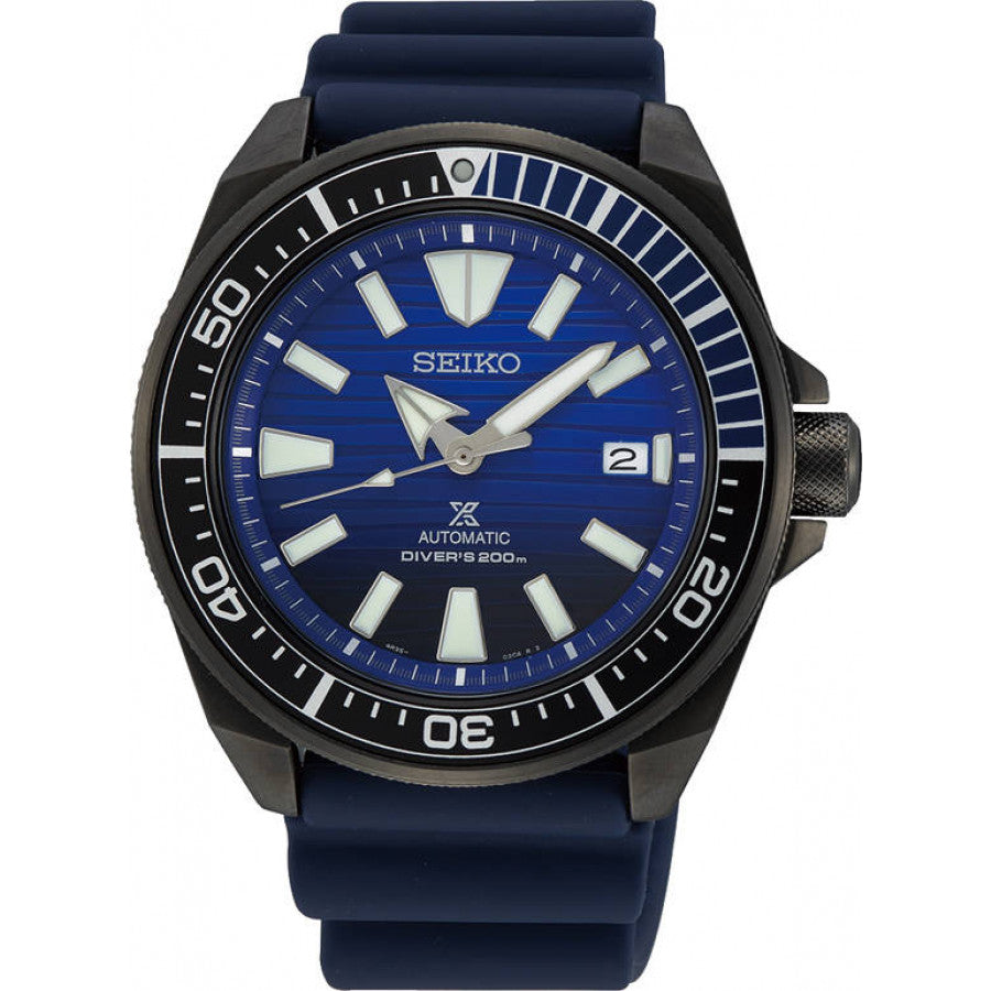 Seiko Prospex Samurai Automatic SRPD09K1 Save the Ocean Black Series kello