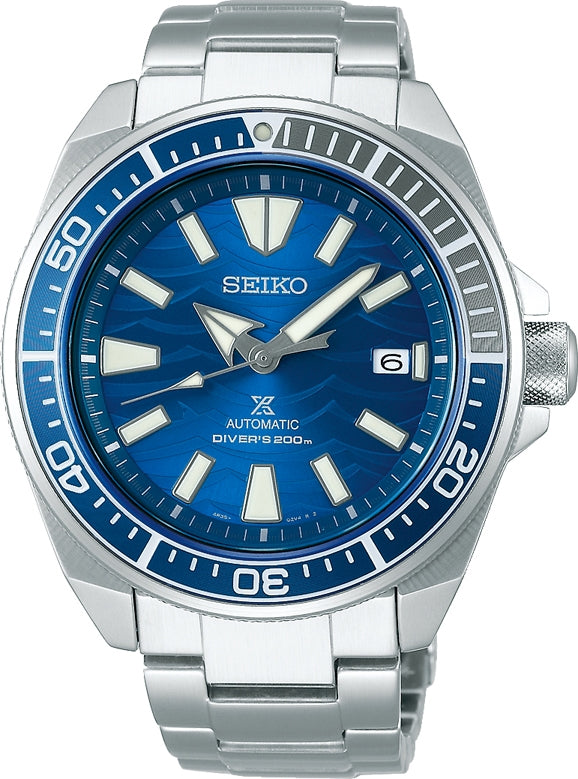 Seiko Prospex Samurai Save the Ocean Great White Shark Special Edition SRPD23K1