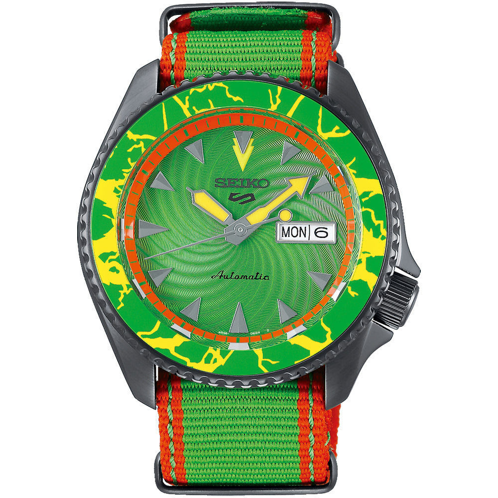"Seiko 5 X Street Fighter ""Blanka"" Limited Edition SRPF23K1"