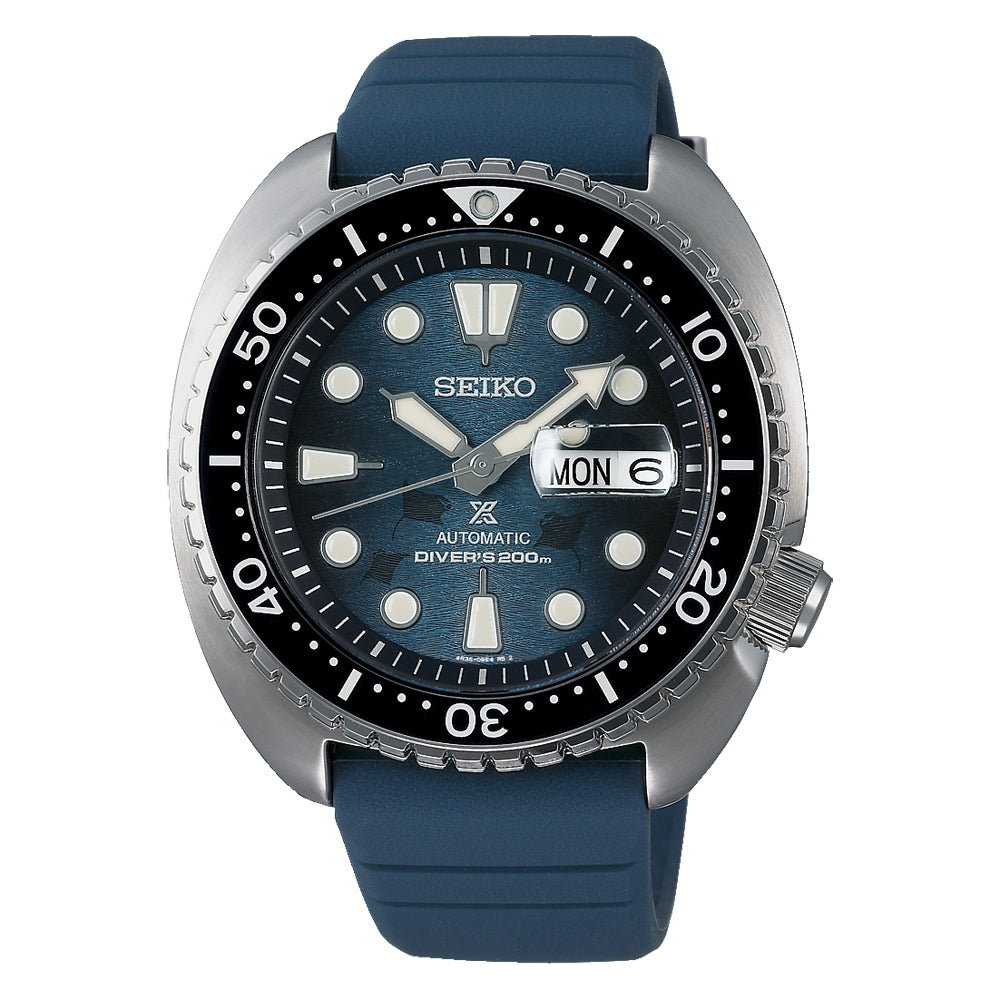 Seiko Prospex King Turtle Save The Ocean Manta Ray SRPF77K1
